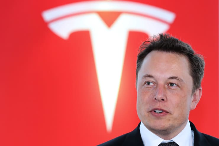 GP: Tesla Motors Inc. Chief Executive Officer Elon Musk News Conference 1