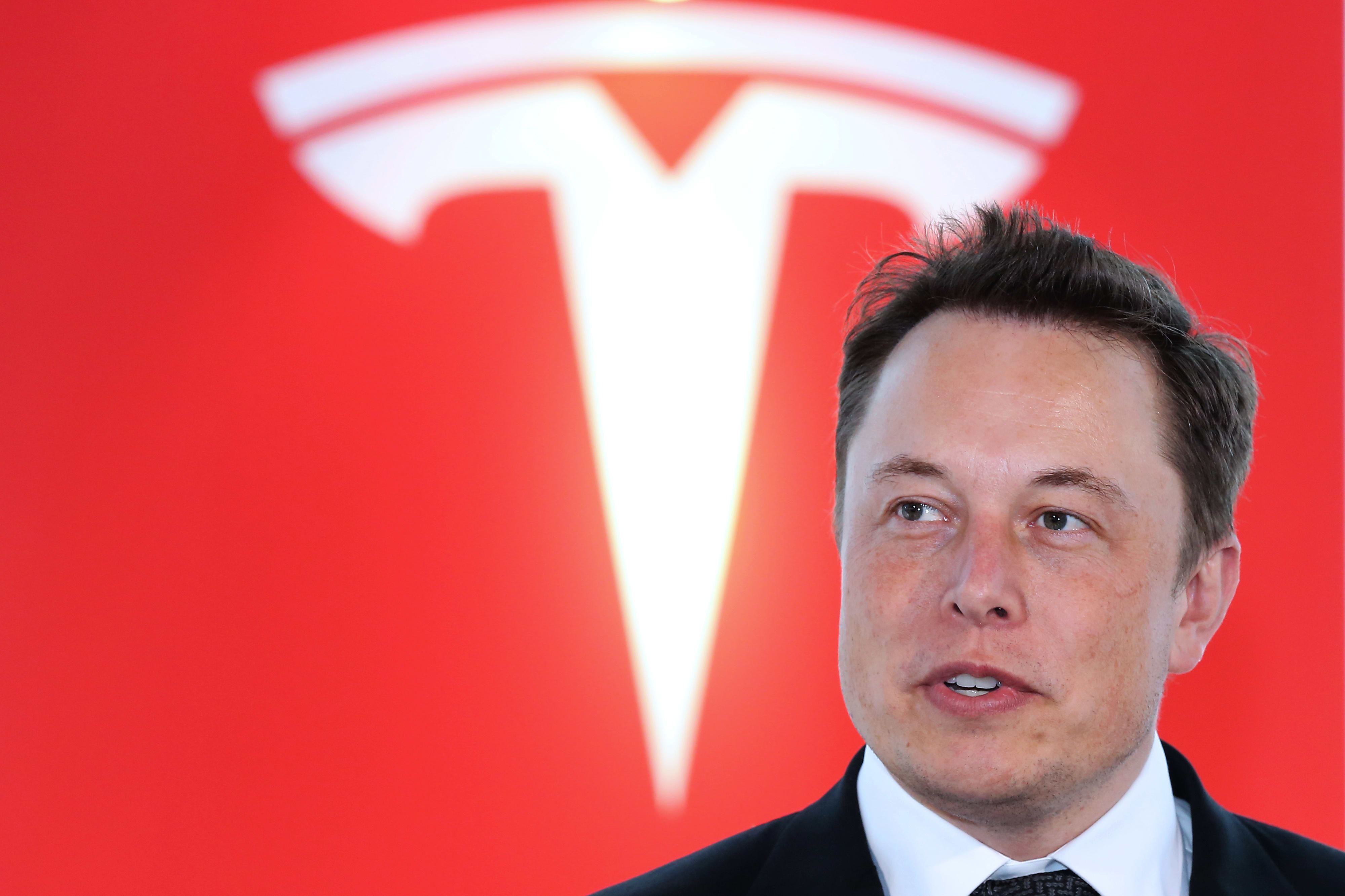Tesla has run 40% in a month, and chart points to another double-digit rally ahead