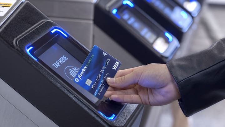 The New York City subway system's cashless payments start Friday