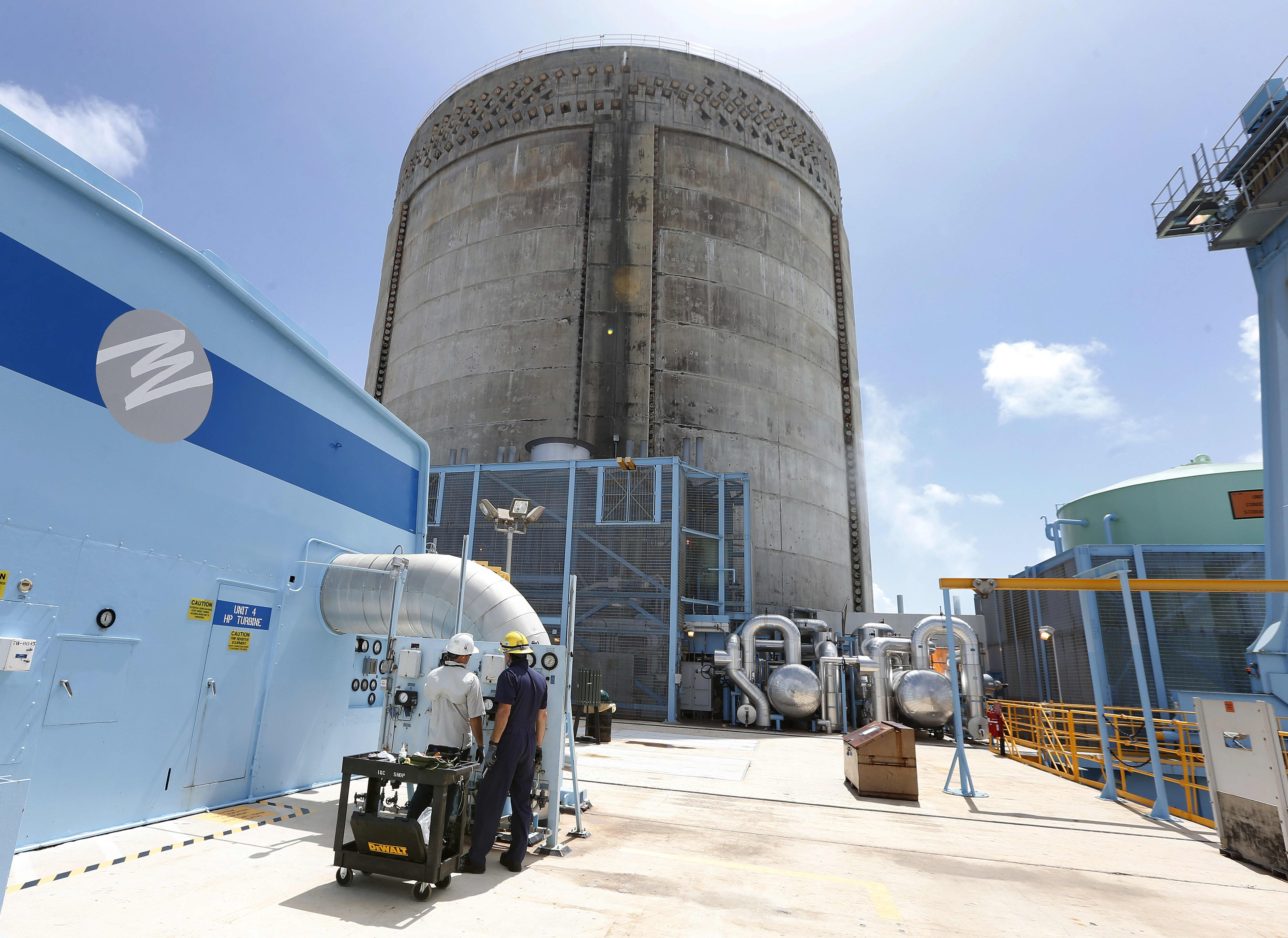 Lò phản ứng Hạt nhân Turkey Point ở Homestead, Florida ngày 18 tháng 5 năm 2017. Rhona Wise | AFP | Getty Images