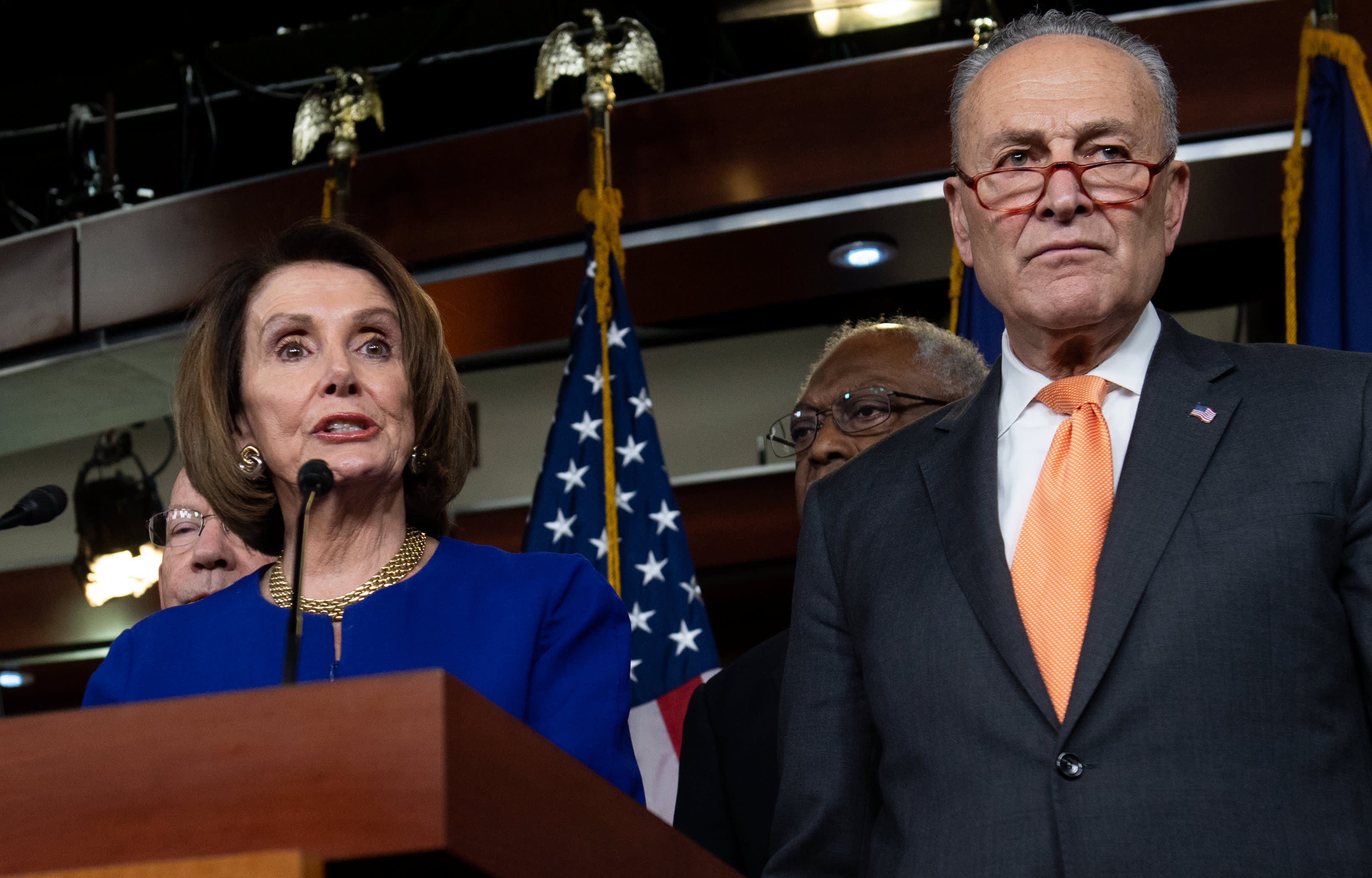 Pelosi and Schumer push for emergency coronavirus bill with at least $500 billion more in aid