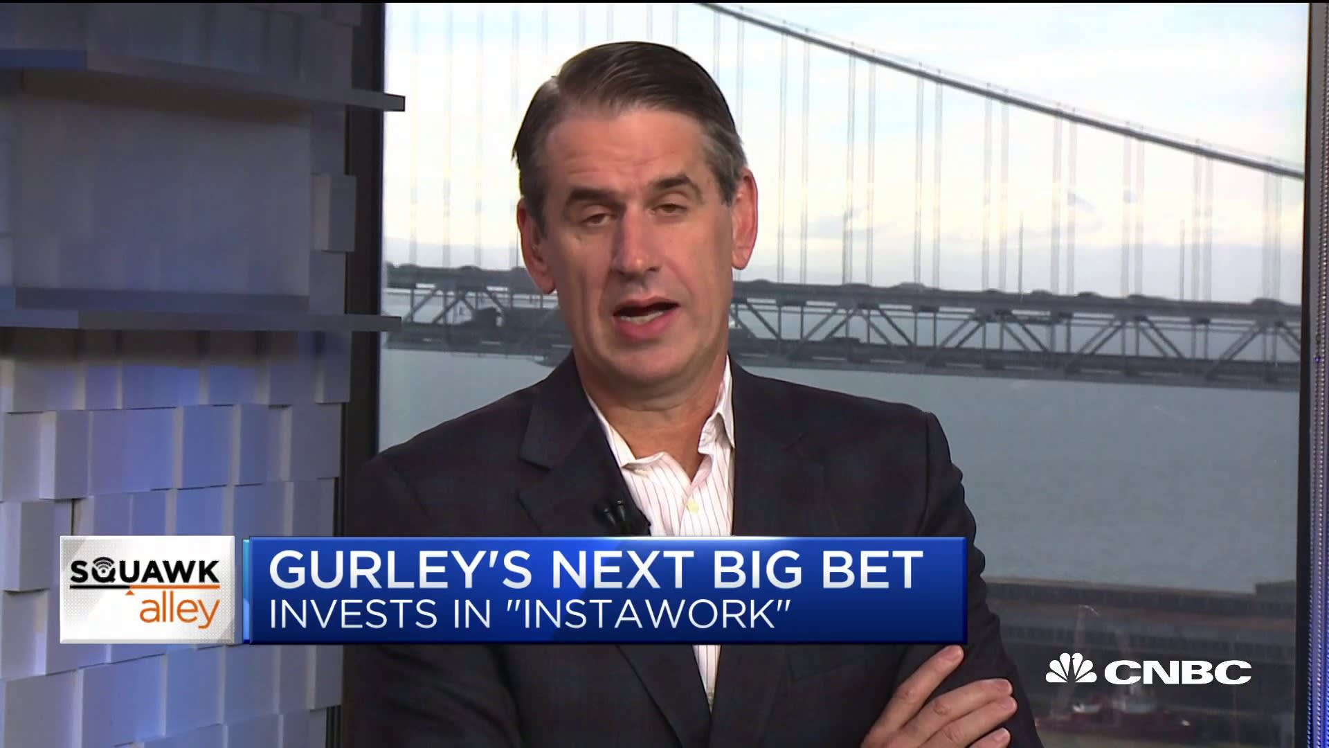 Early Uber investor Bill Gurley evangelizes the social benefits of the work-when-you-want-to gig economy