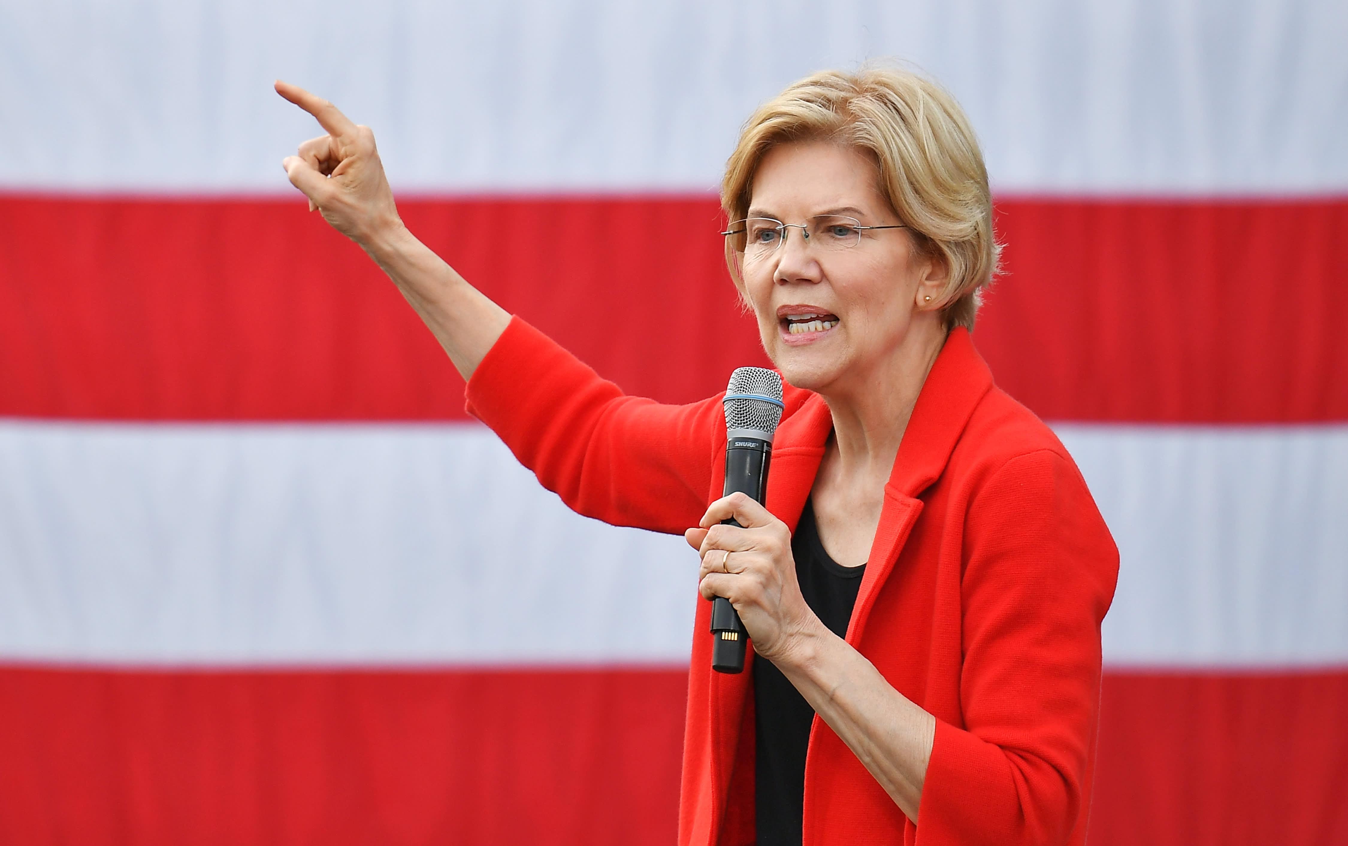 'Economic patriotism' — Elizabeth Warren calls for aggressive market intervention in jobs plan
