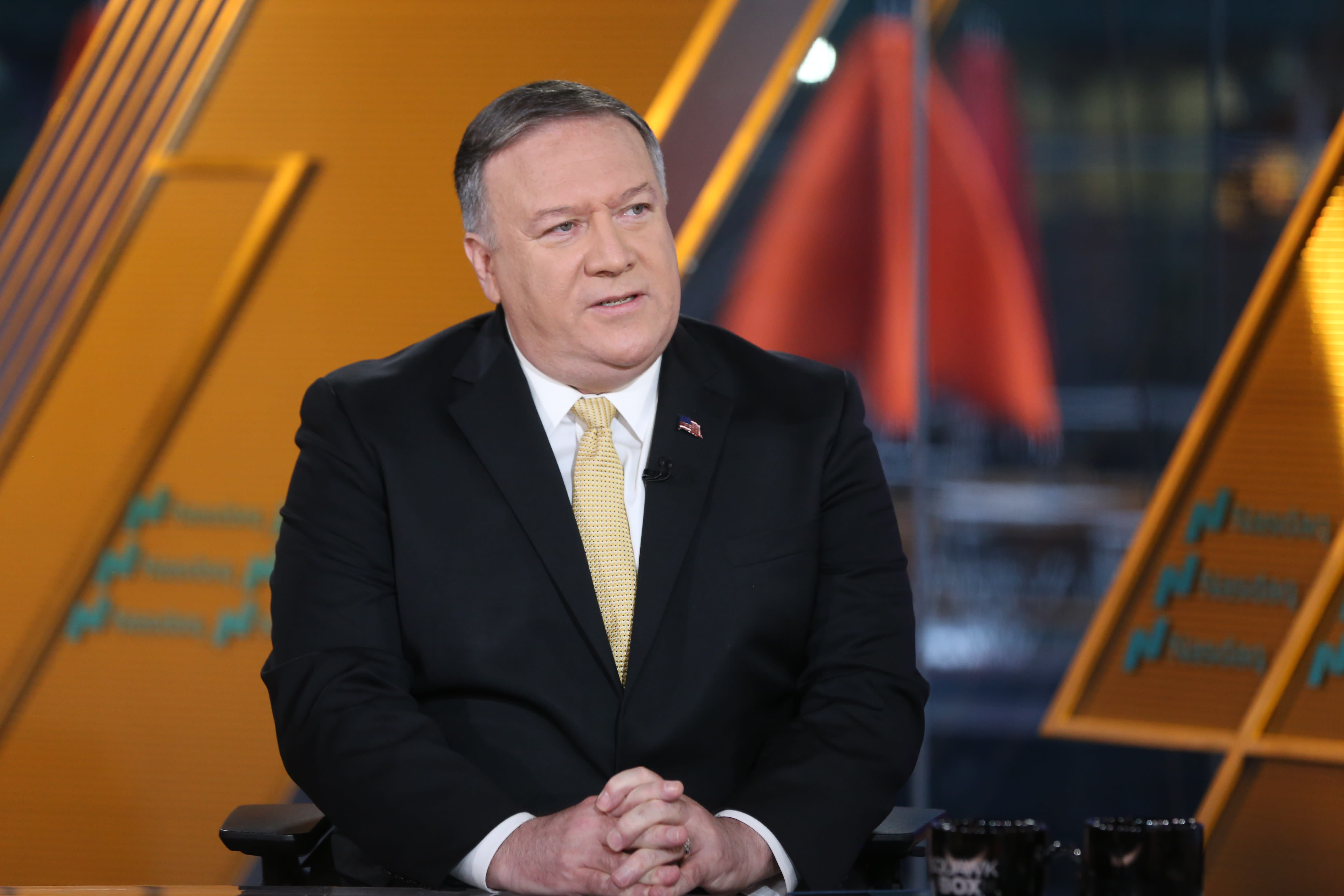 Secretary of State Pompeo: Huawei isn't telling Americans the truth about China government ties