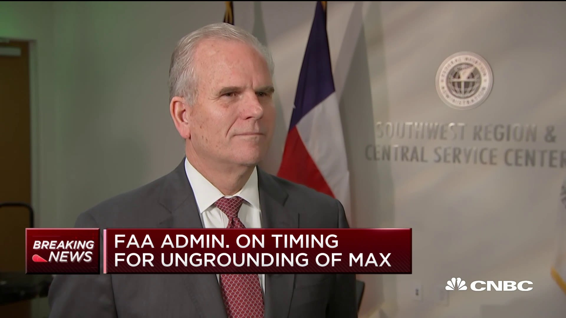 FAA acting head: Airlines don't need to extend Boeing 737 Max flight cancellations