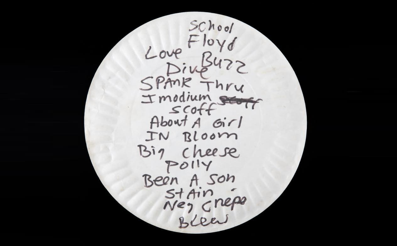 Kurt Cobain's pizza plate sold for $22,400. Here's more celebrity garbage that sold for big money.