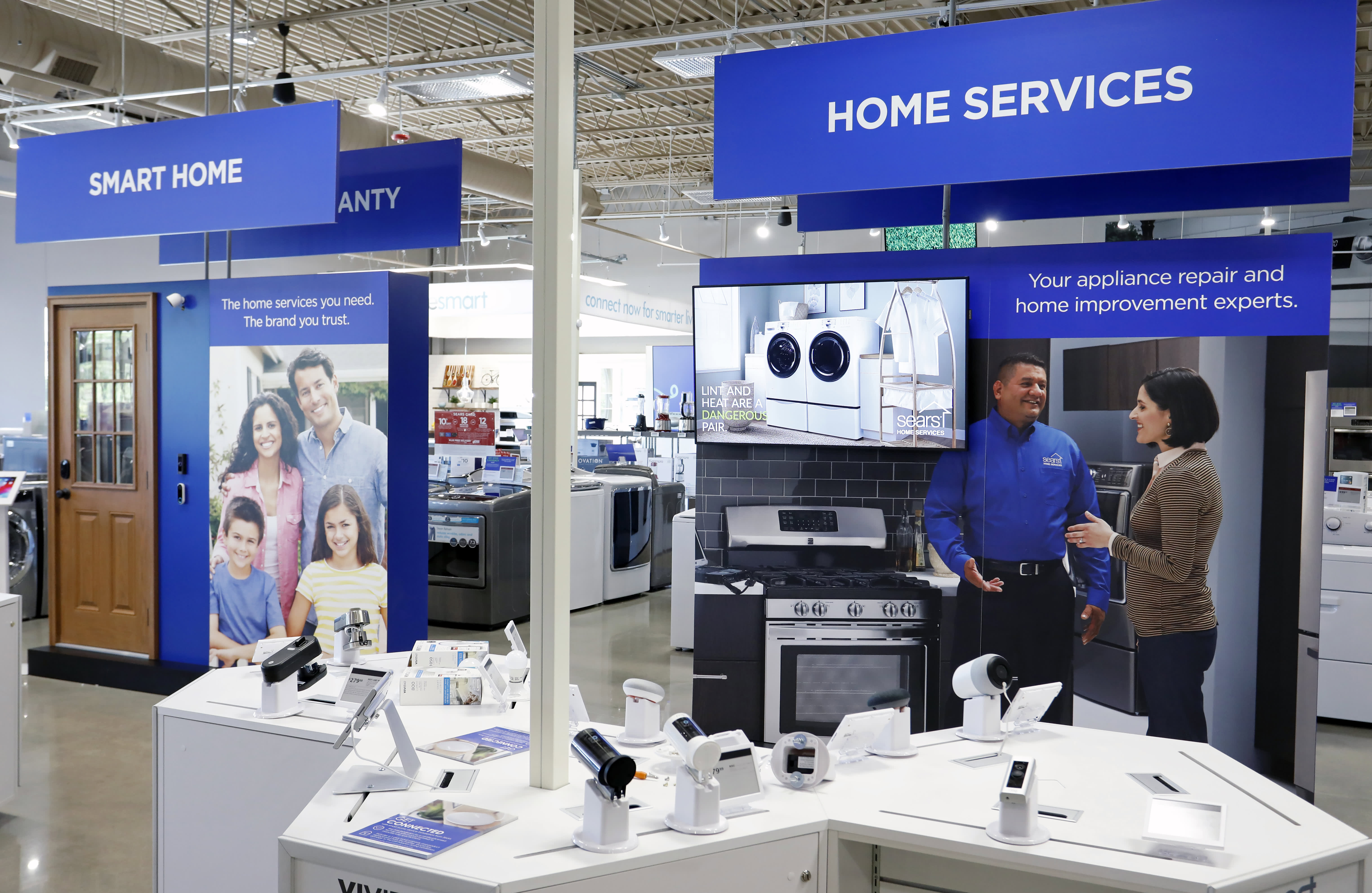 Sears pins its future on small stores selling appliances, mattresses. Here's what that looks like