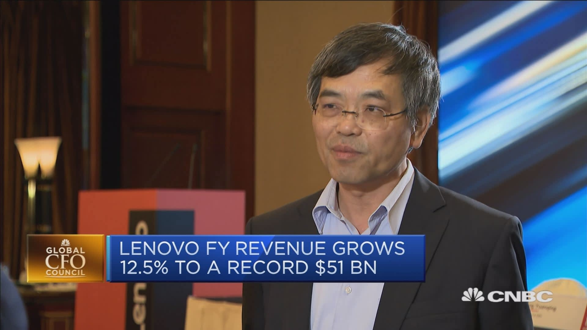Tech giant Lenovo says it's 'well-prepared' if the US slaps more tariffs on China