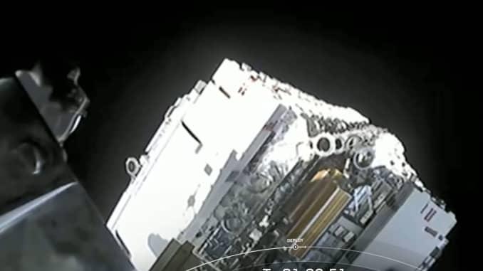 SpaceX deploys its 60 Starlink internet satellites into orbit.