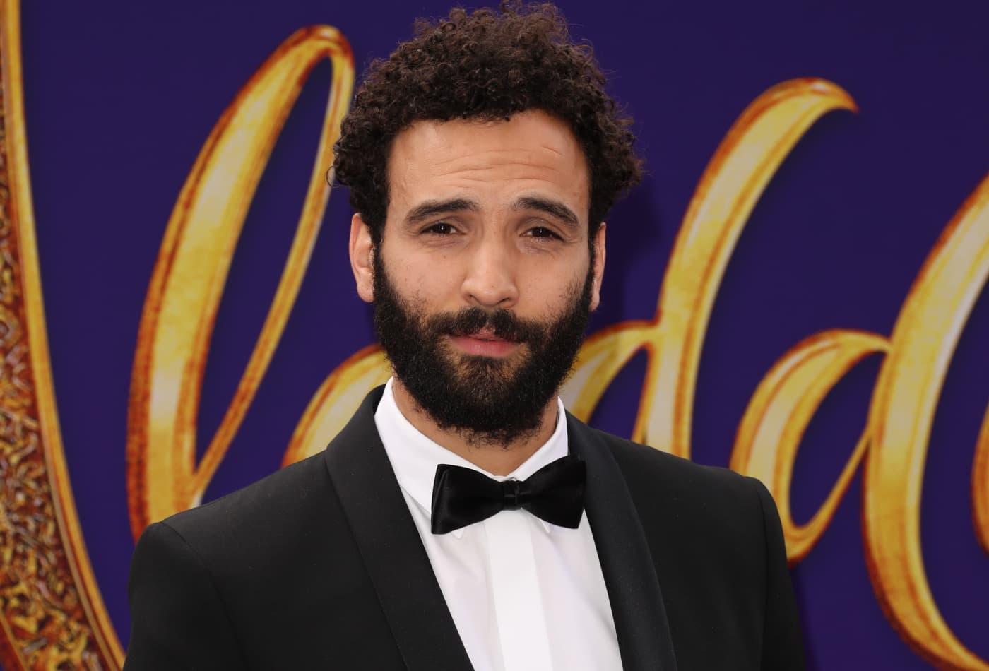 How 'Aladdin' star Marwan Kenzari (aka 'hot Jafar') got into