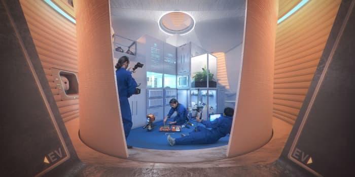 H/O: Mars habitat NASA contest lab 190524