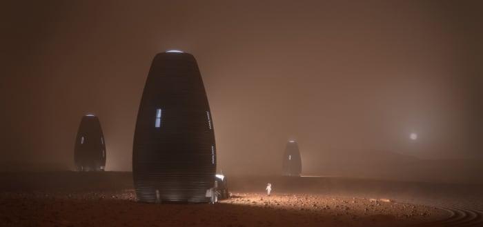 H/O: Mars habitat contest NASA 190524