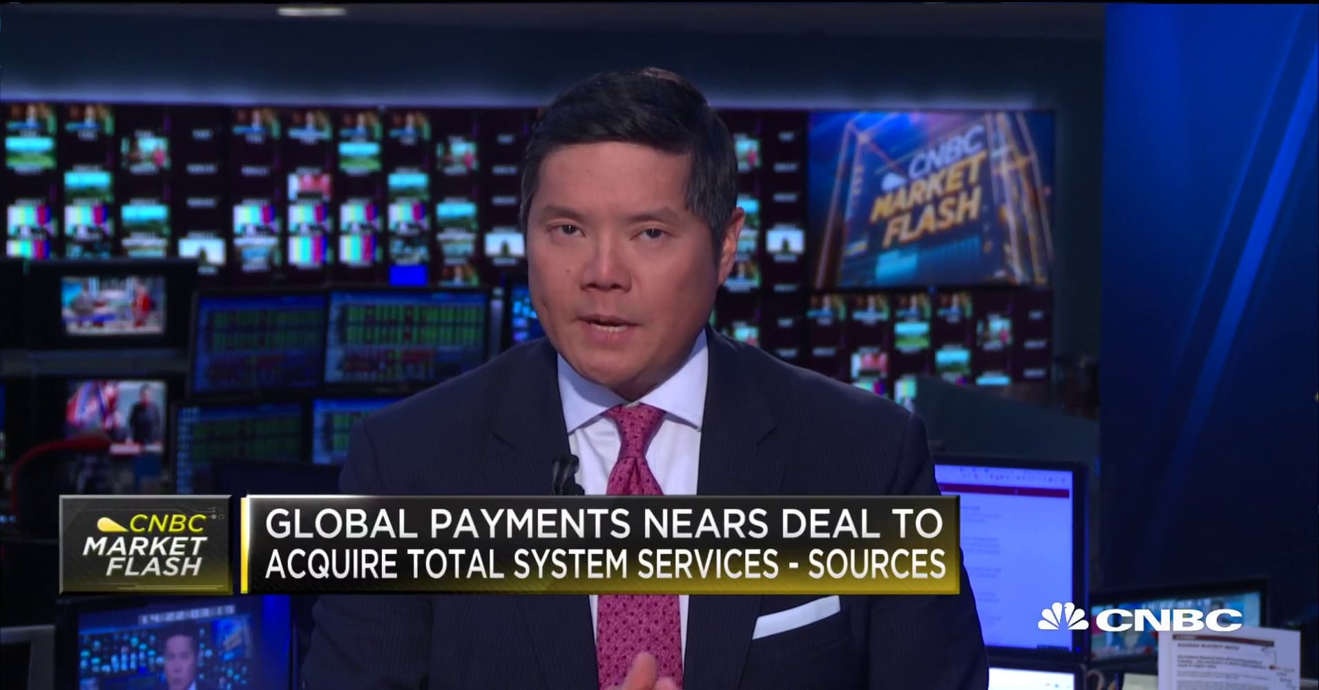 Global Payments near deal to acquire Total System Services