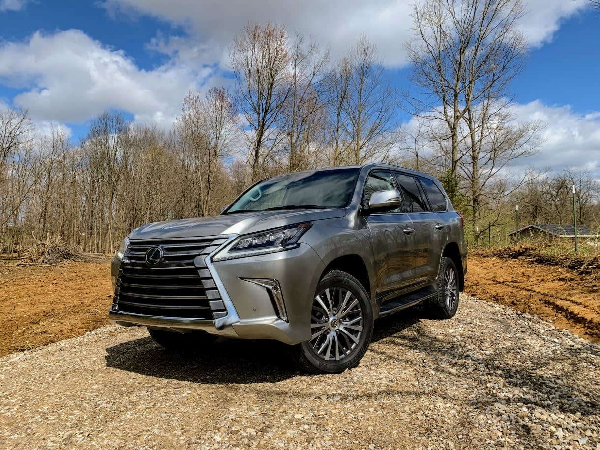 The 2019 Lexus LX 570