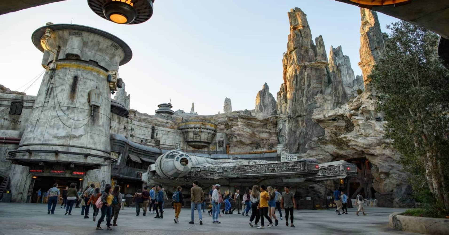 Image result for star wars theme park