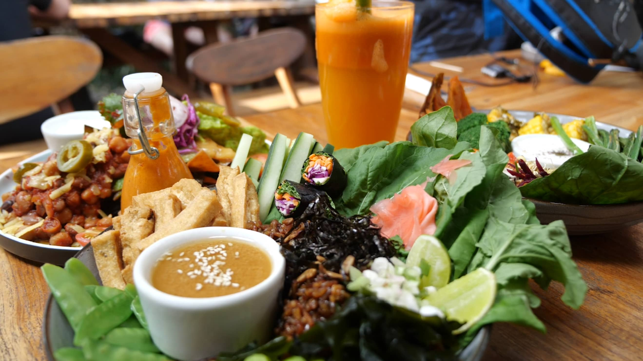 Fad or future food? Plant-based dishes are the norm in this town in Bali