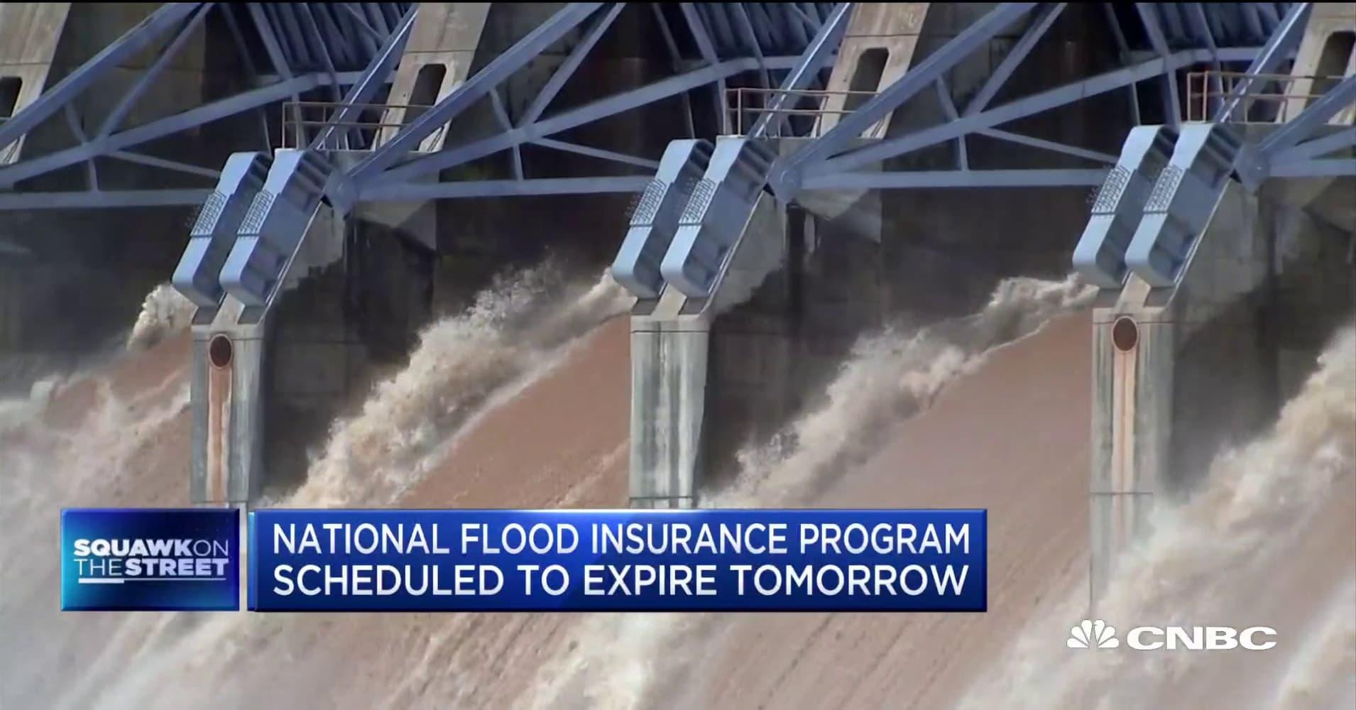 National Flood Insurance Program set to expire as hurricane season begins