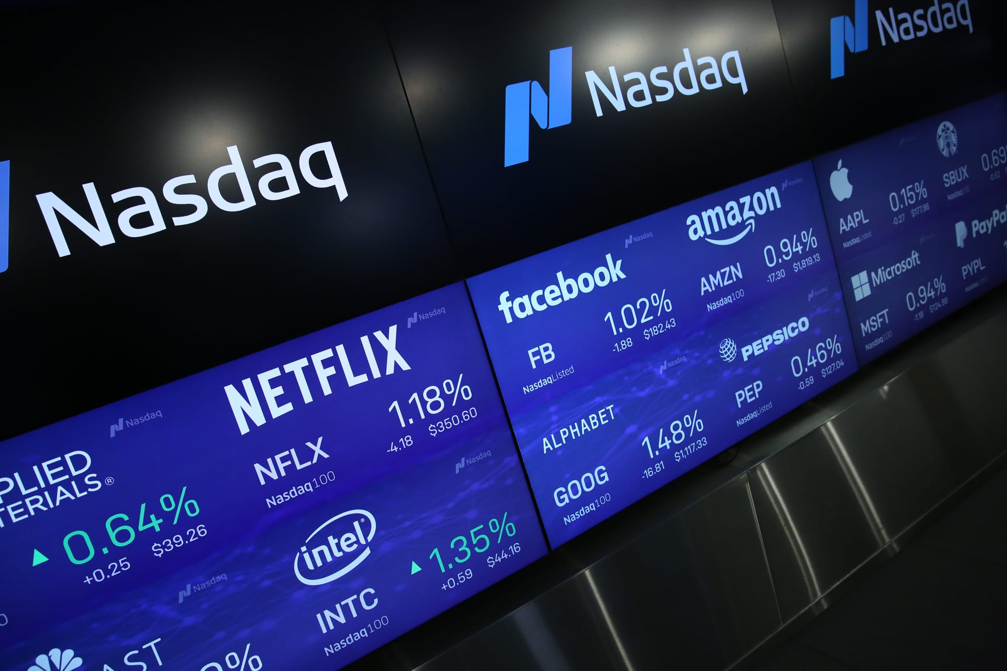 Stocks to open slightly lower after Nasdaq`s...
