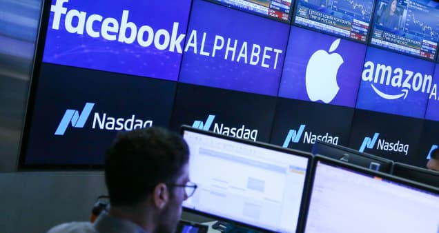 Nasdaq futures down 1% after a sell-off in Big Tech pushes stocks off records