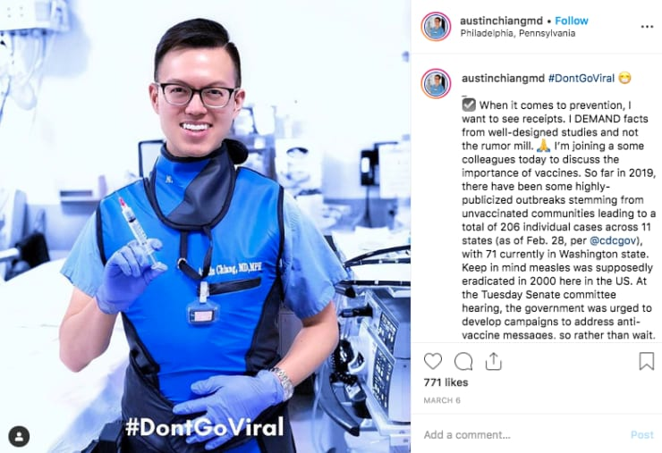 'GI Doctor' is recruiting experts to counter fake health news on social media