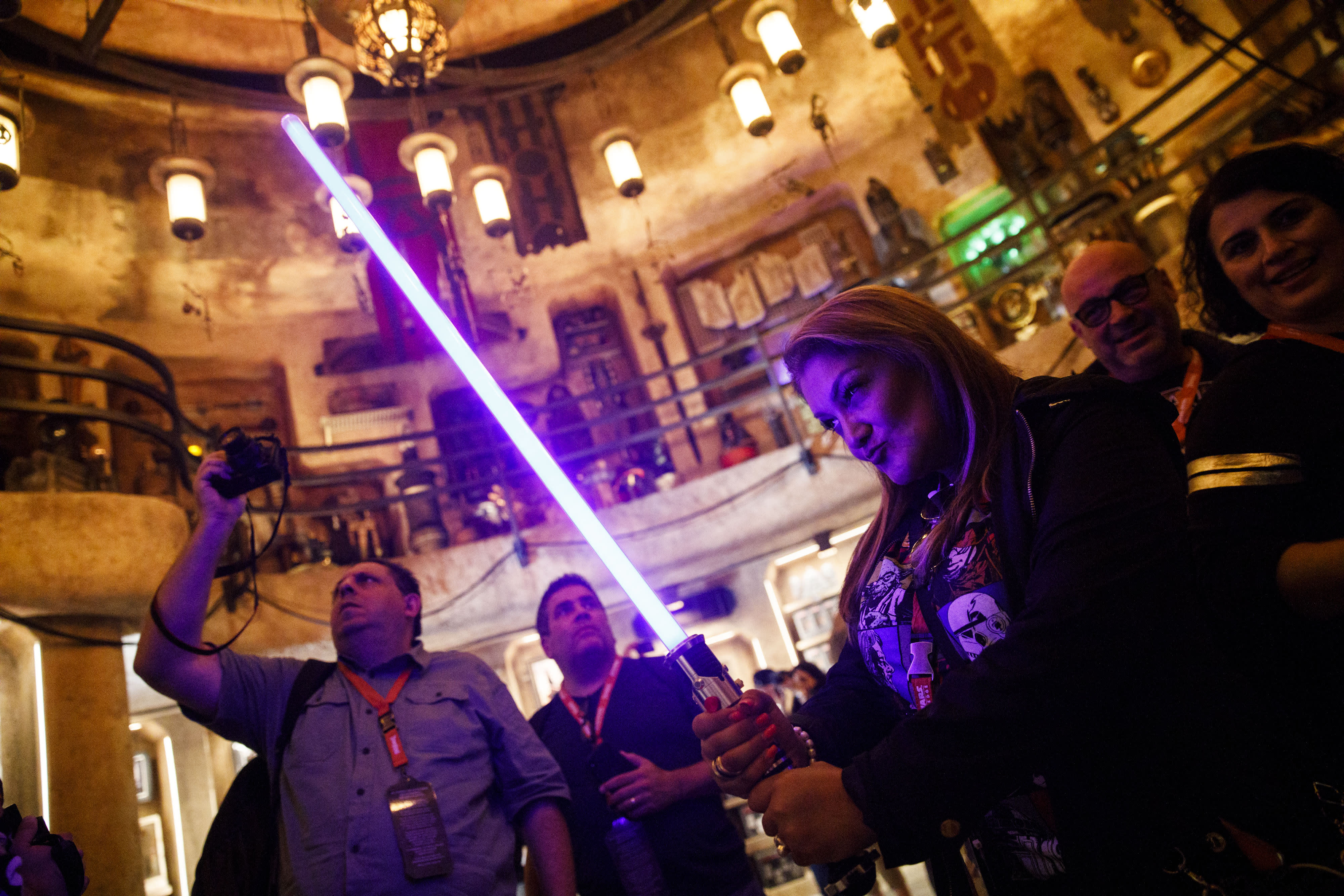 You can build a $200 lightsaber at Disneyland's new Star Wars: Galaxy's Edge — here's what you get
