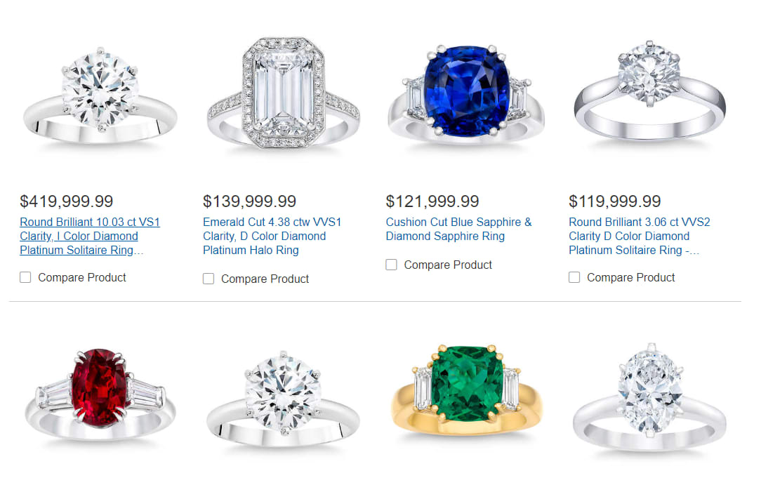 e1af8ebef85ef Costco sold someone a $400,000 diamond ring