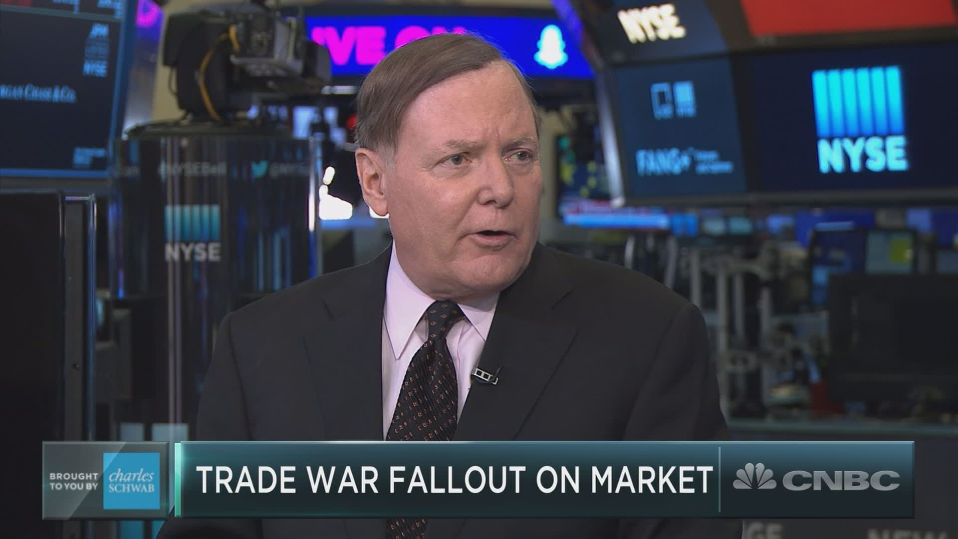 Stocks will rally to new highs no matter what happens with trade, market bull Jeff Saut predicts