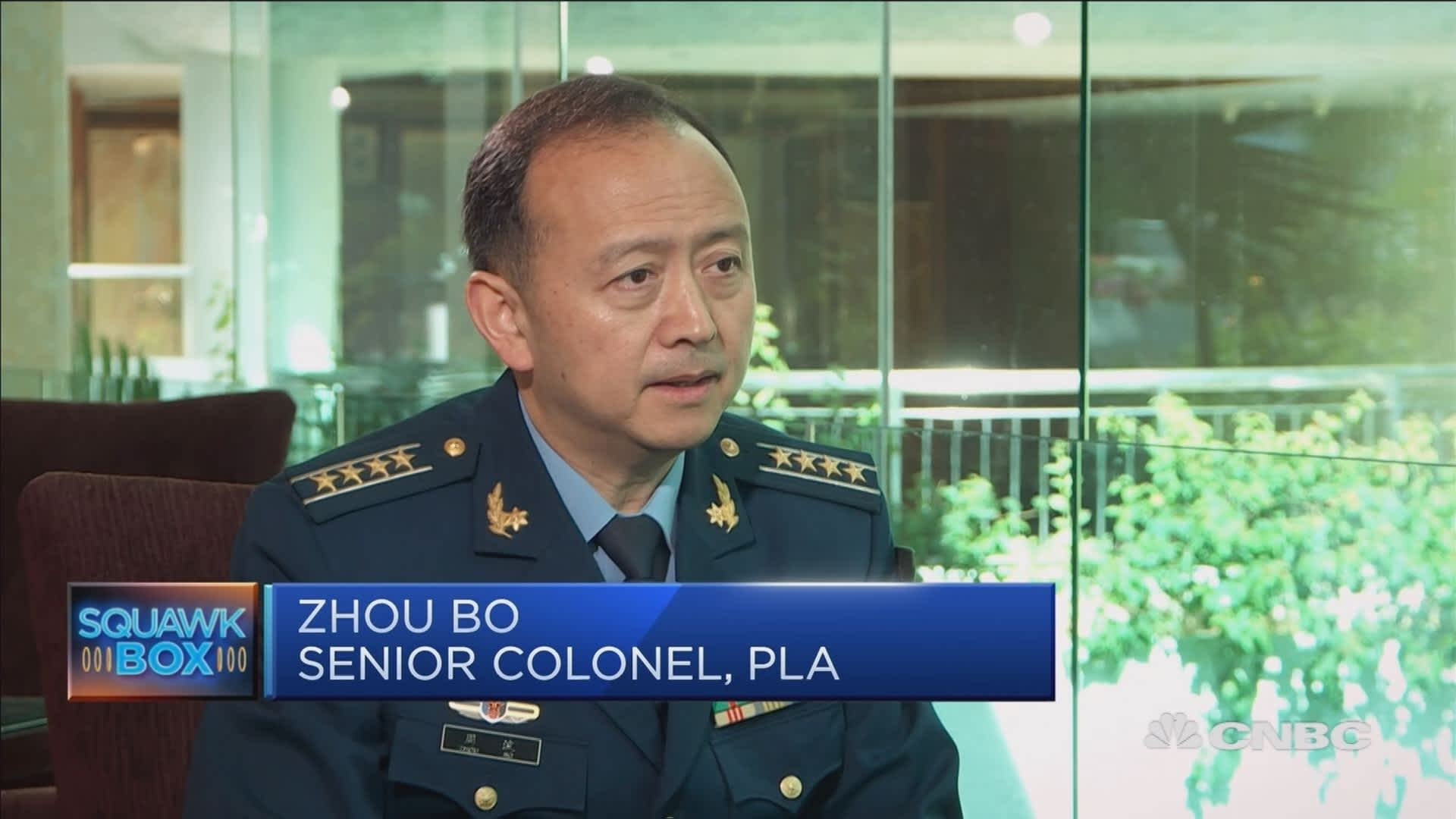 Chinese military official on the South China Sea dispute