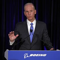 Boeing CEO says the safe return of its 737 Max aircraft is 'most important'