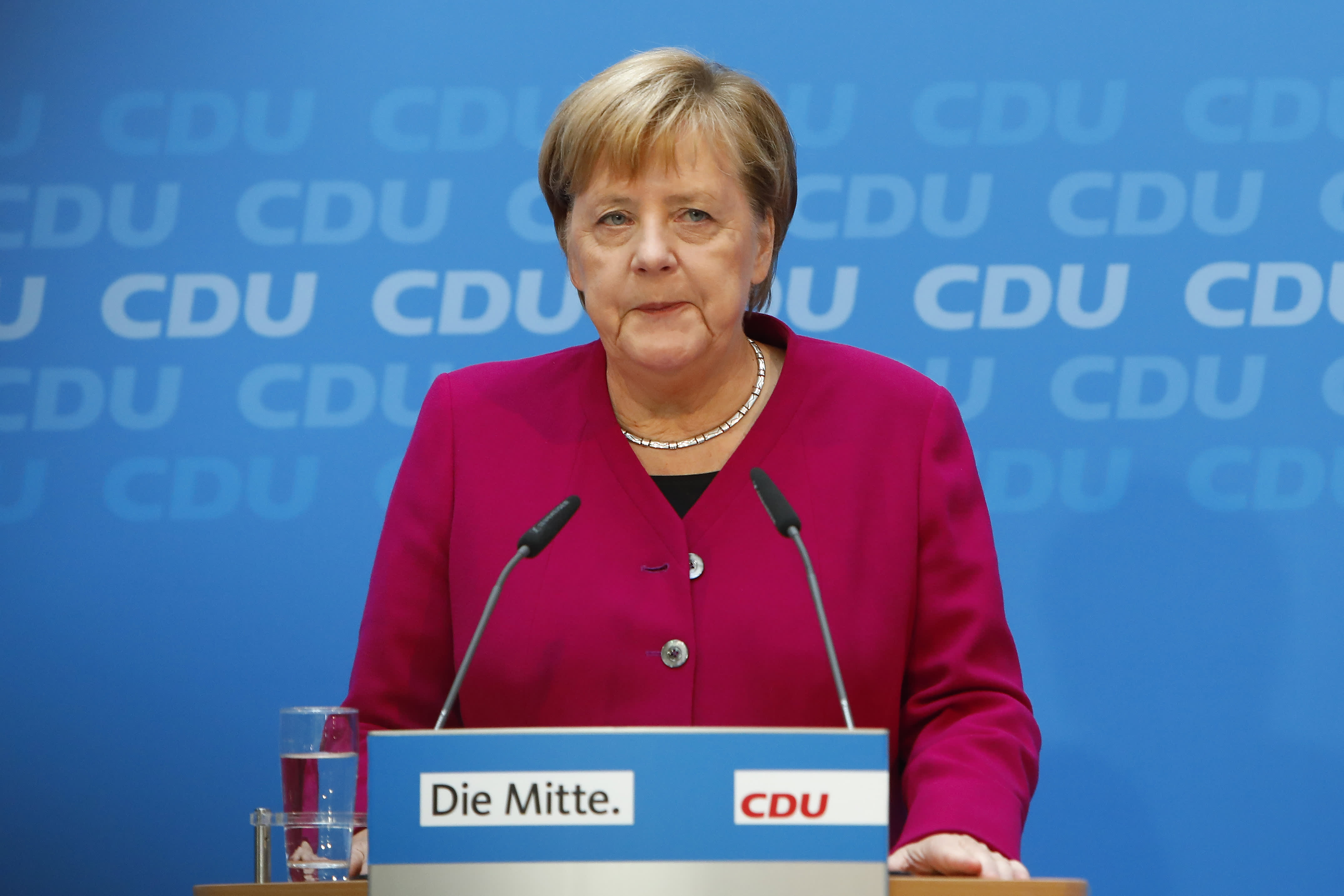 Merkel rules out retaliation after US sanctions Russian gas pipeline