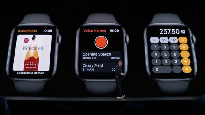 SS: 2019 Apple WWDC- Apple Watch