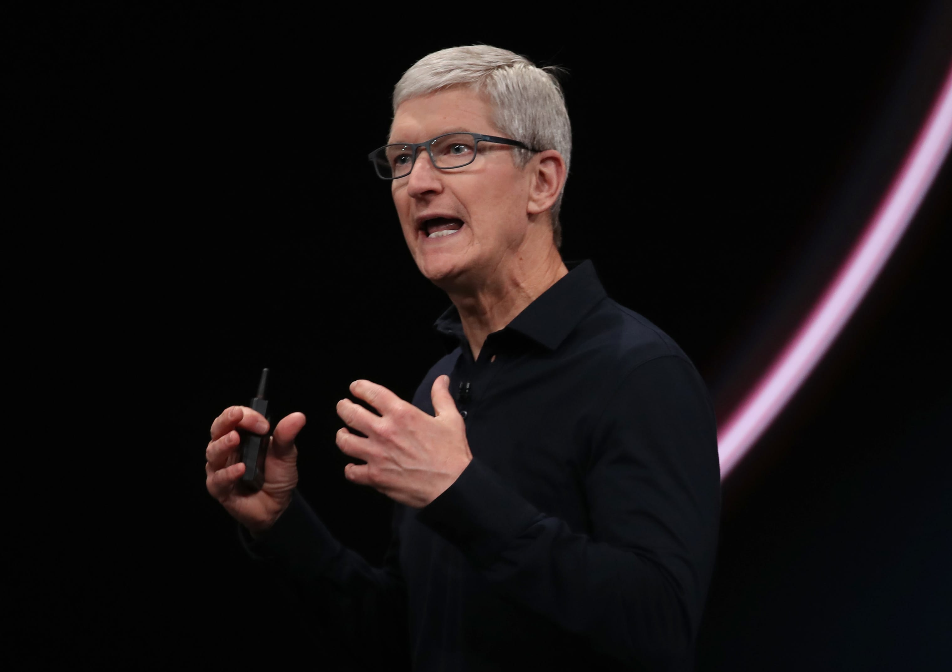 Tim Cook says Apple is not a monopoly as the government begins its antitrust probe