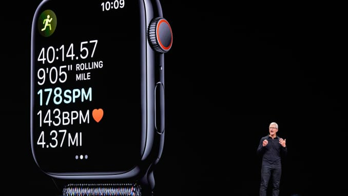 RT: Tim Cook, Apple Developers Conference, Apple Watch 190603