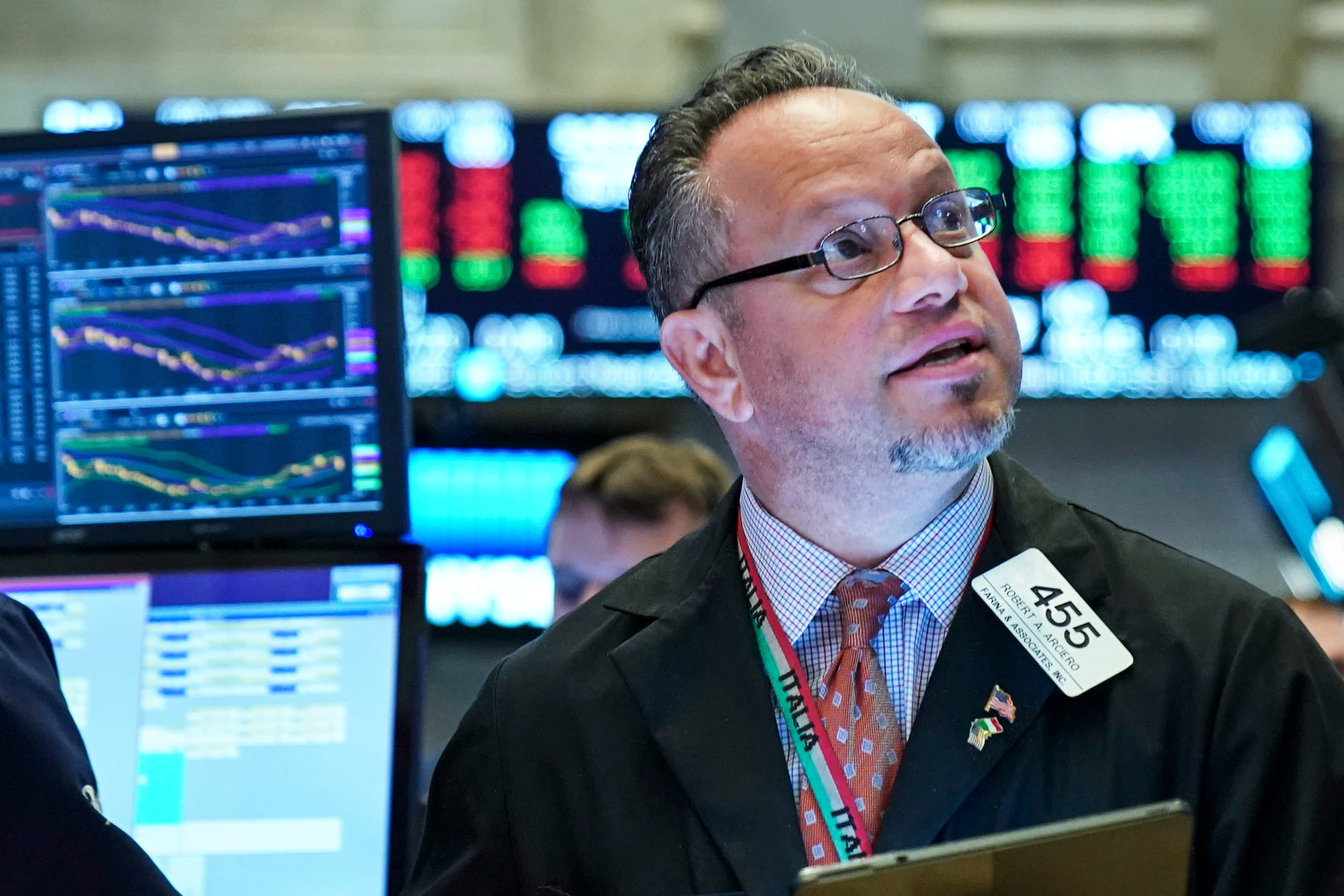 Dow jumps more than 350 points after China and US agree to trade talks next month, tech leads gains