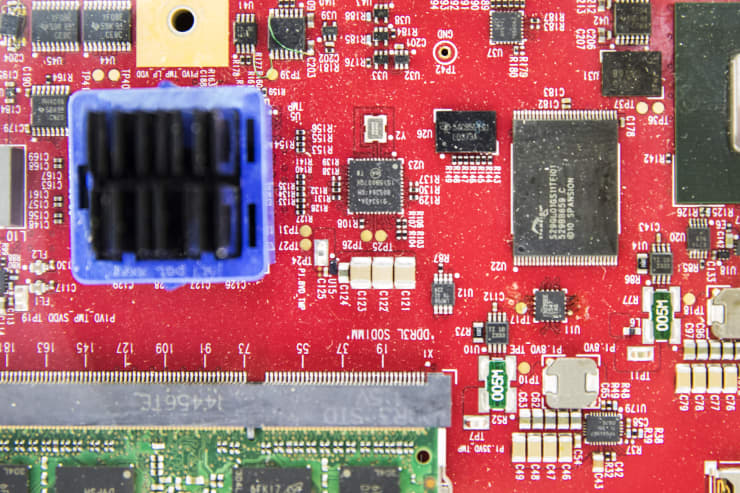 GP: Qualcomm semiconductor circuit board