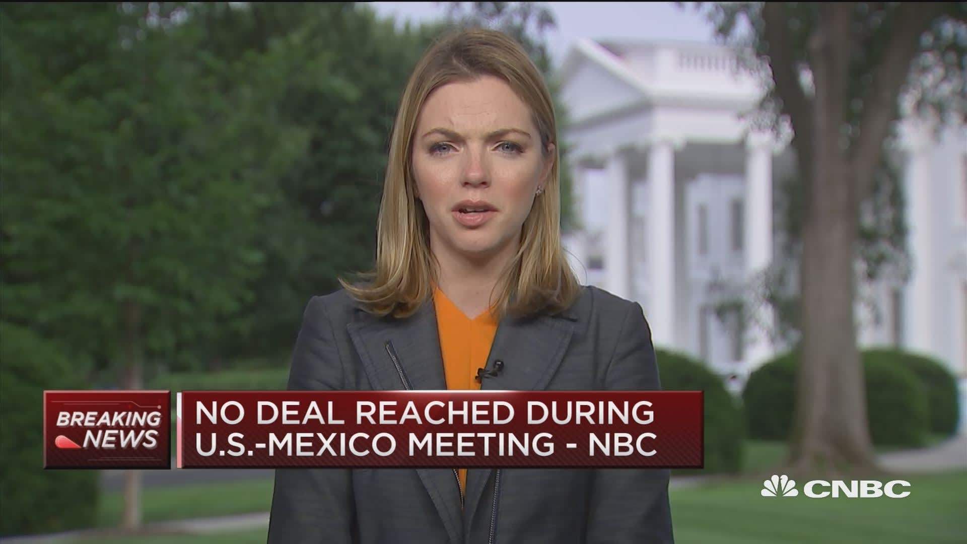 No deal reached during U S -Mexico trade talks