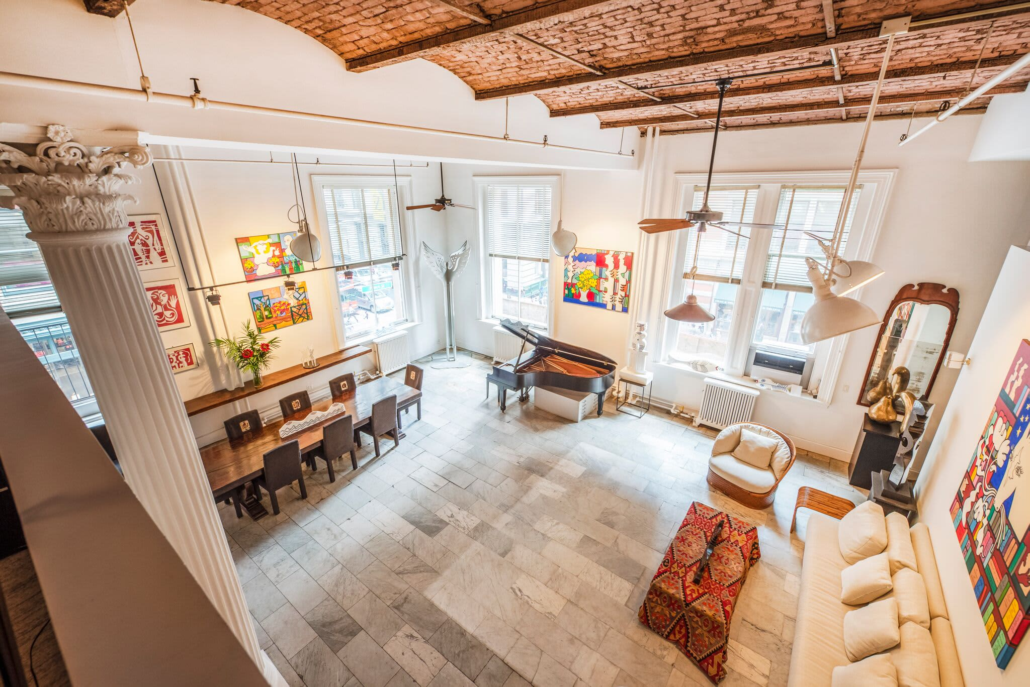 The loft from MTV's 'Real World: New York' is for sale for $7.5 million — take a look inside thumbnail