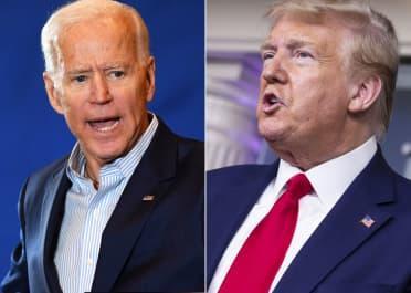 GS: Joe Biden and Donald Trump split