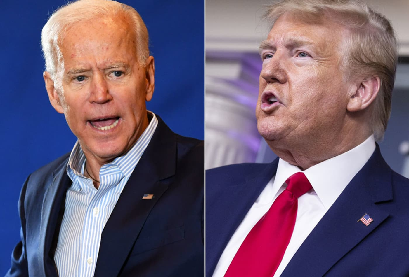 Wells Fargo created Trump and Biden portfolios — Here's what's in them