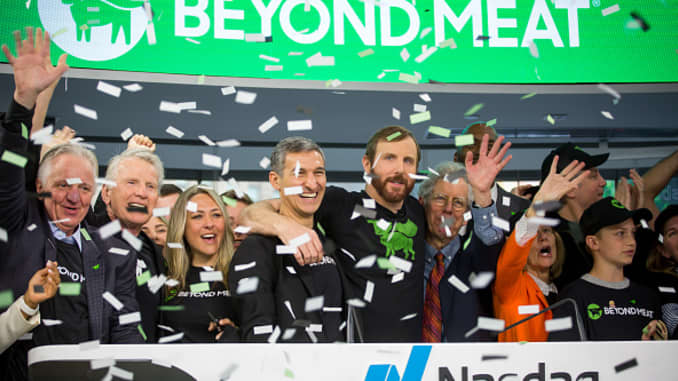 Beyond Meat inc. Debuts Initial Public Offering At Nasdaq MarketSite