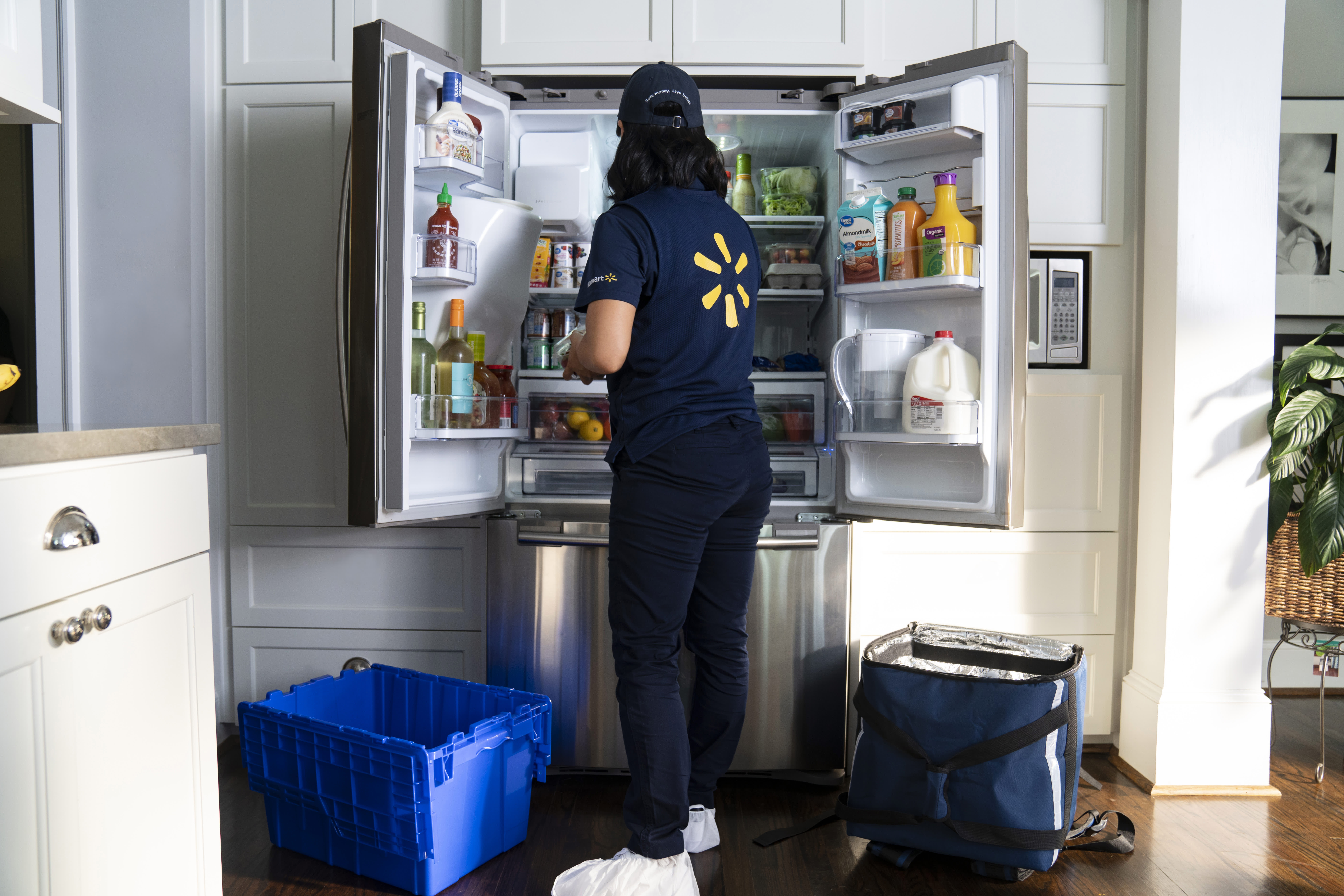 Walmart announces an in-home grocery delivery service