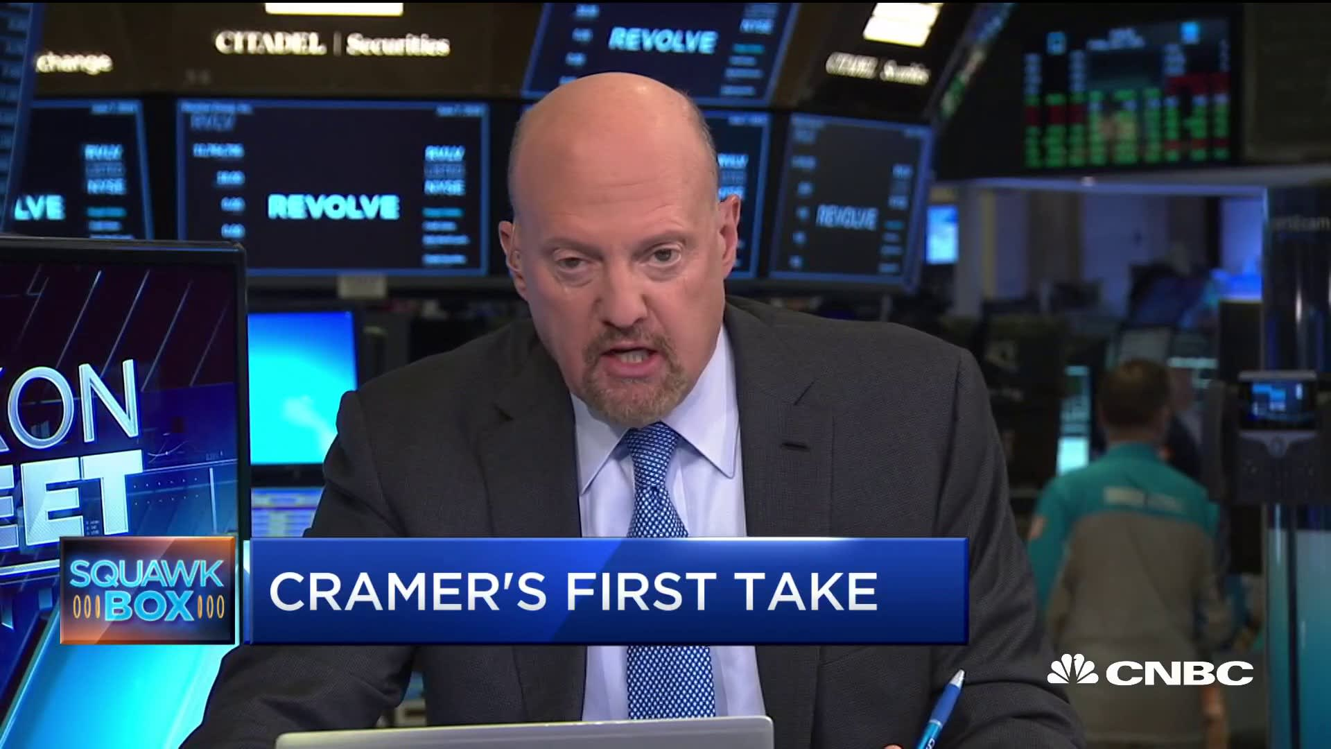 Cramer slams Trump tariffs: He should 'stop beating' Mexico up, 'they haven't done anything'