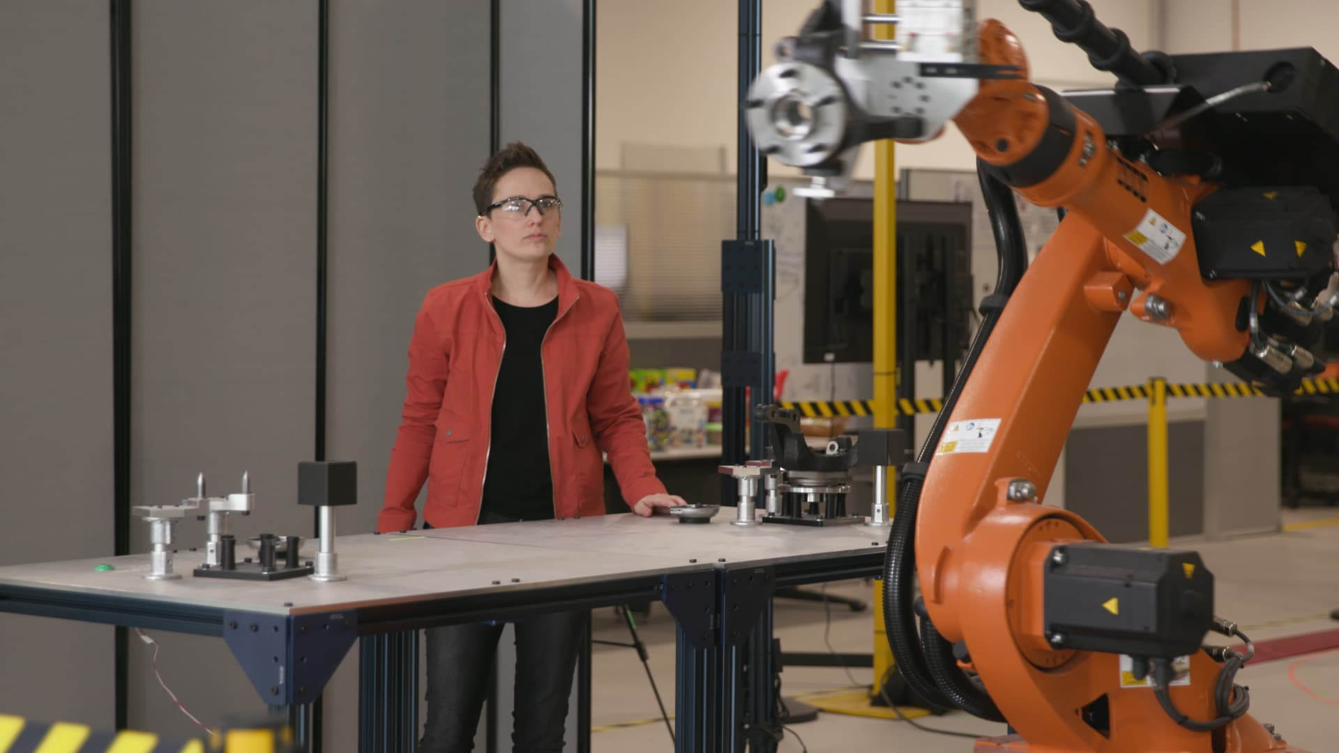 Robots are breaking out of their cages on the factory floor, and here's what they are doing