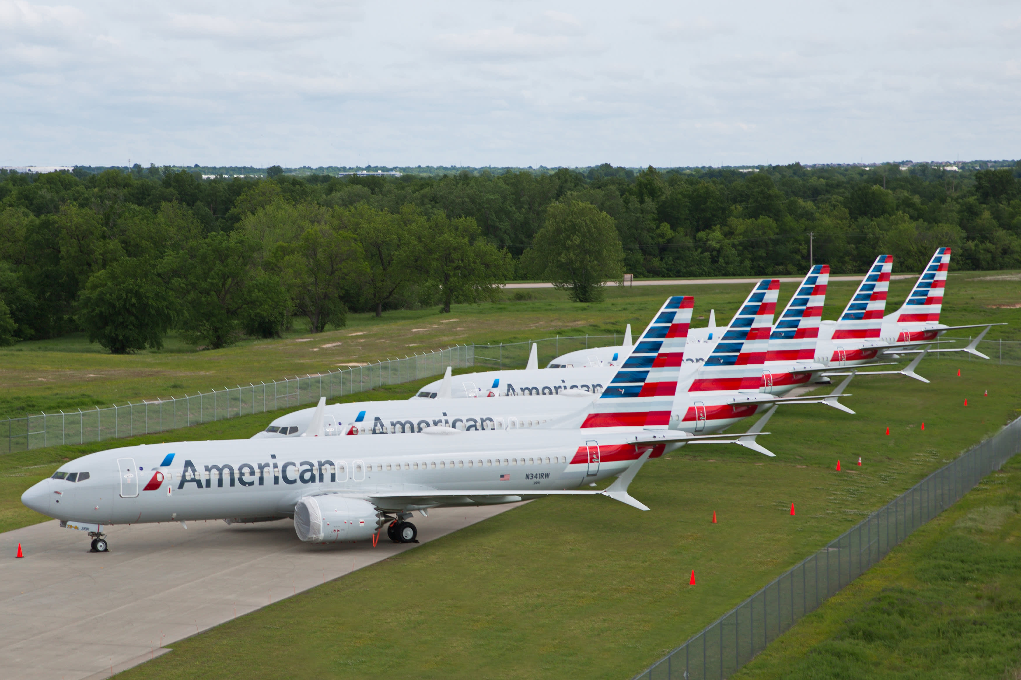 American Airlines extends cancellations from grounded Boeing 737 Max to Sept. 3