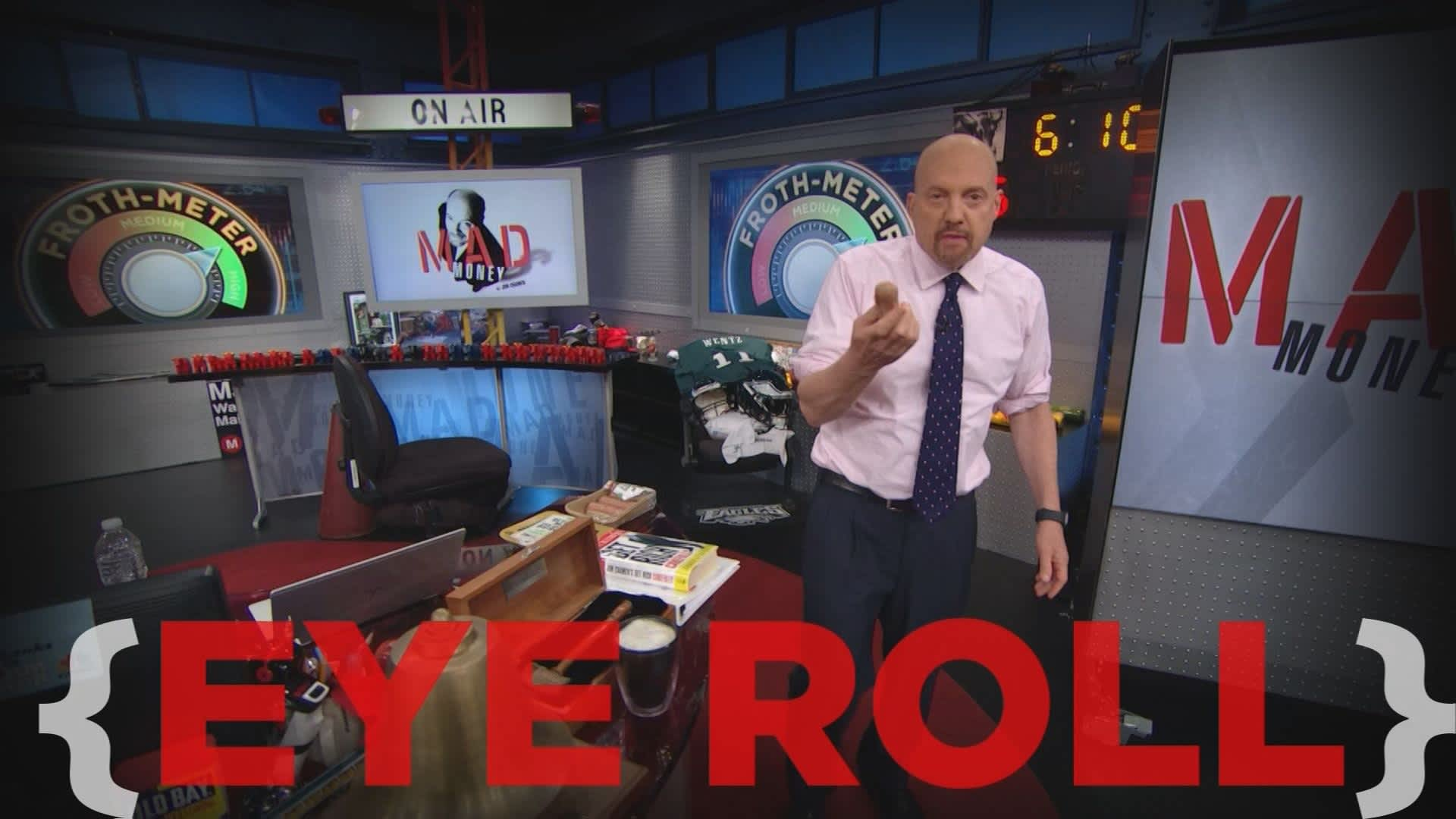 Cramer Remix: The June Swoon talk is useless