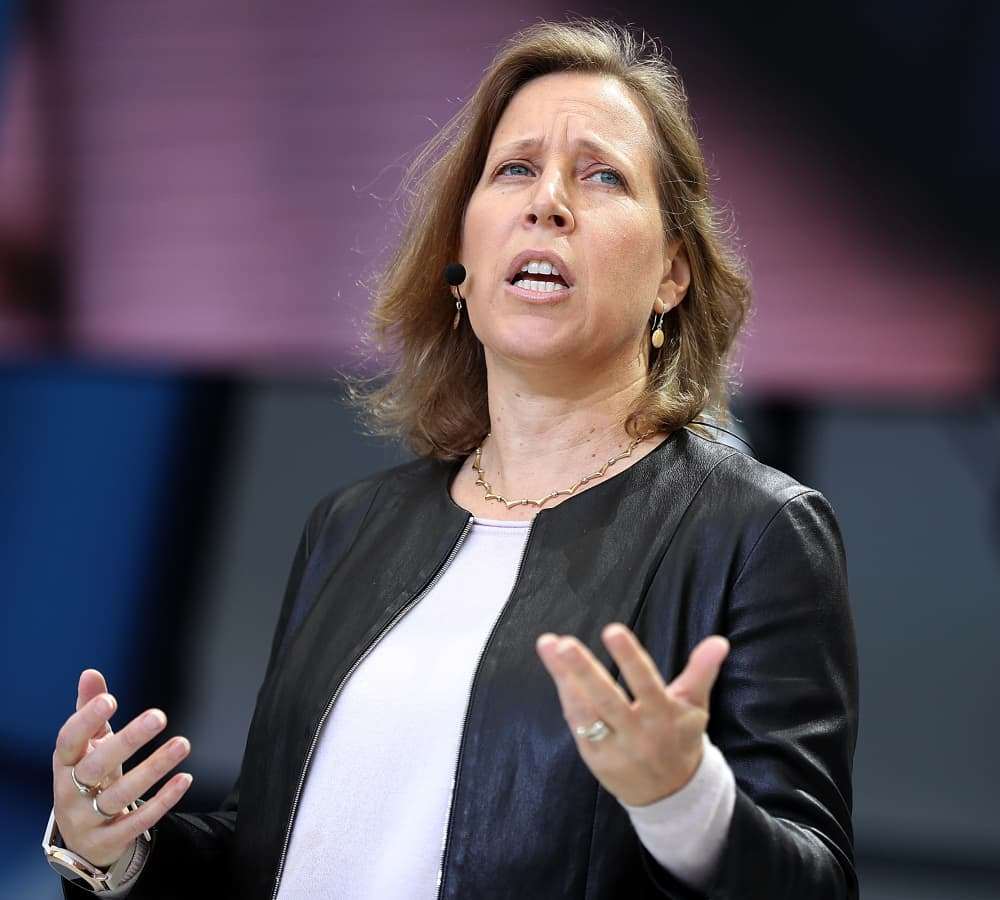 YouTube CEO Susan Wojcicki: Here's what to say when men are talking over you at a meeting
