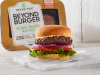 "Beyond Meat's ""meatier"" plant-based burger."