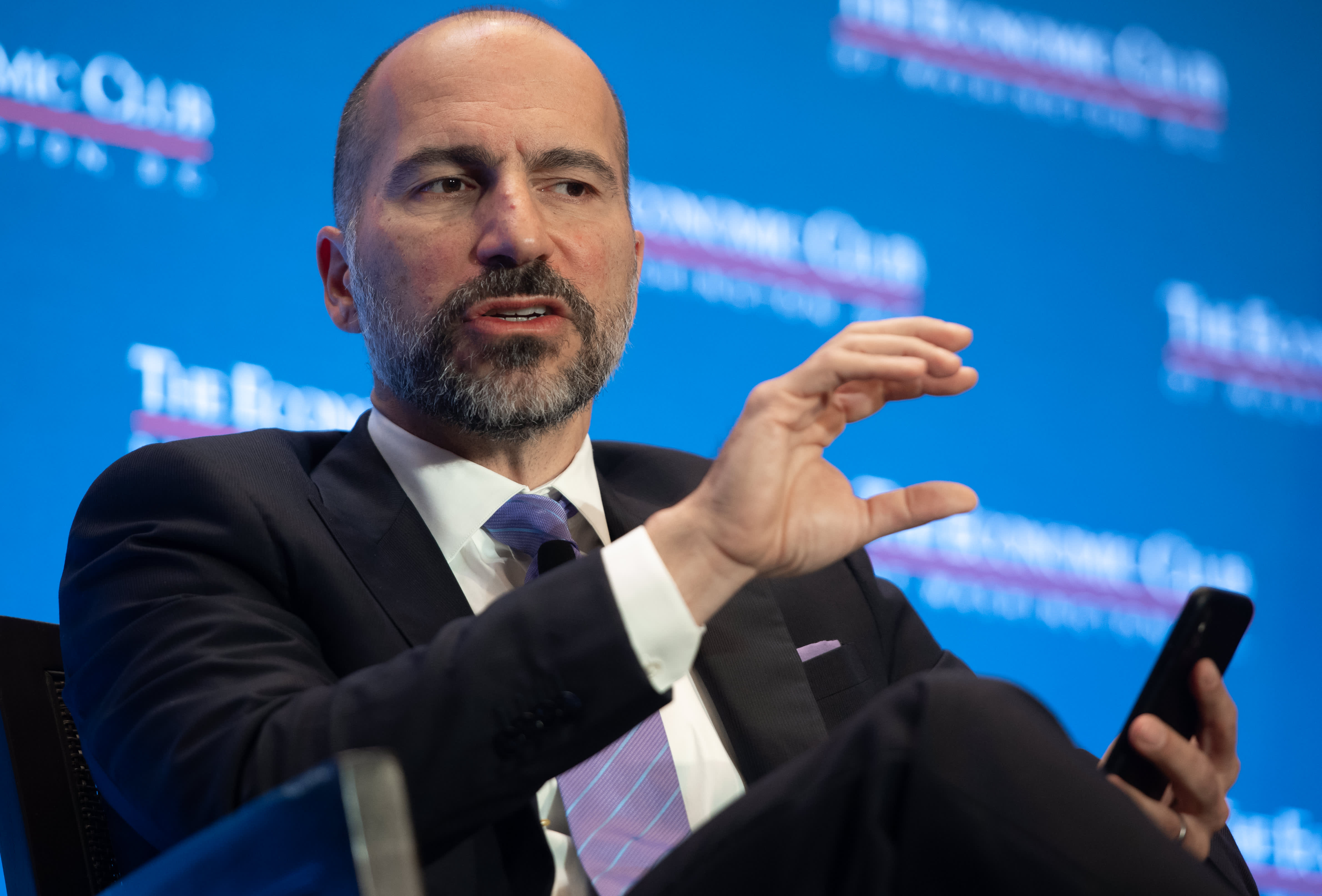 Uber CEO reveals it considered buying food delivery app Caviar before rival DoorDash did