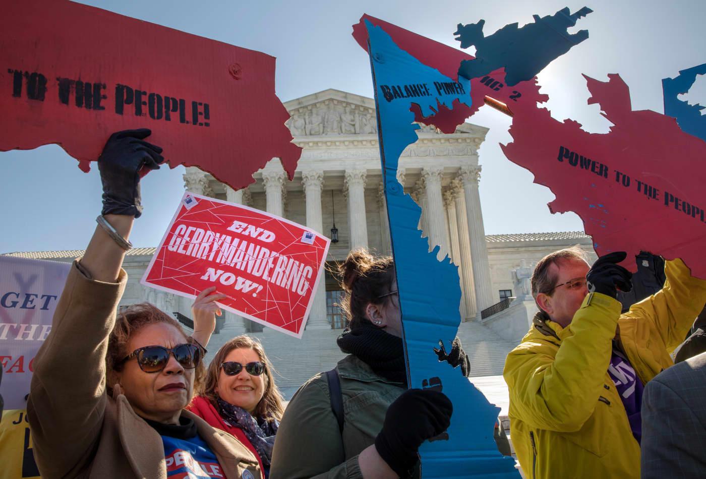 Supreme Court decides federal judges cannot block gerrymandering