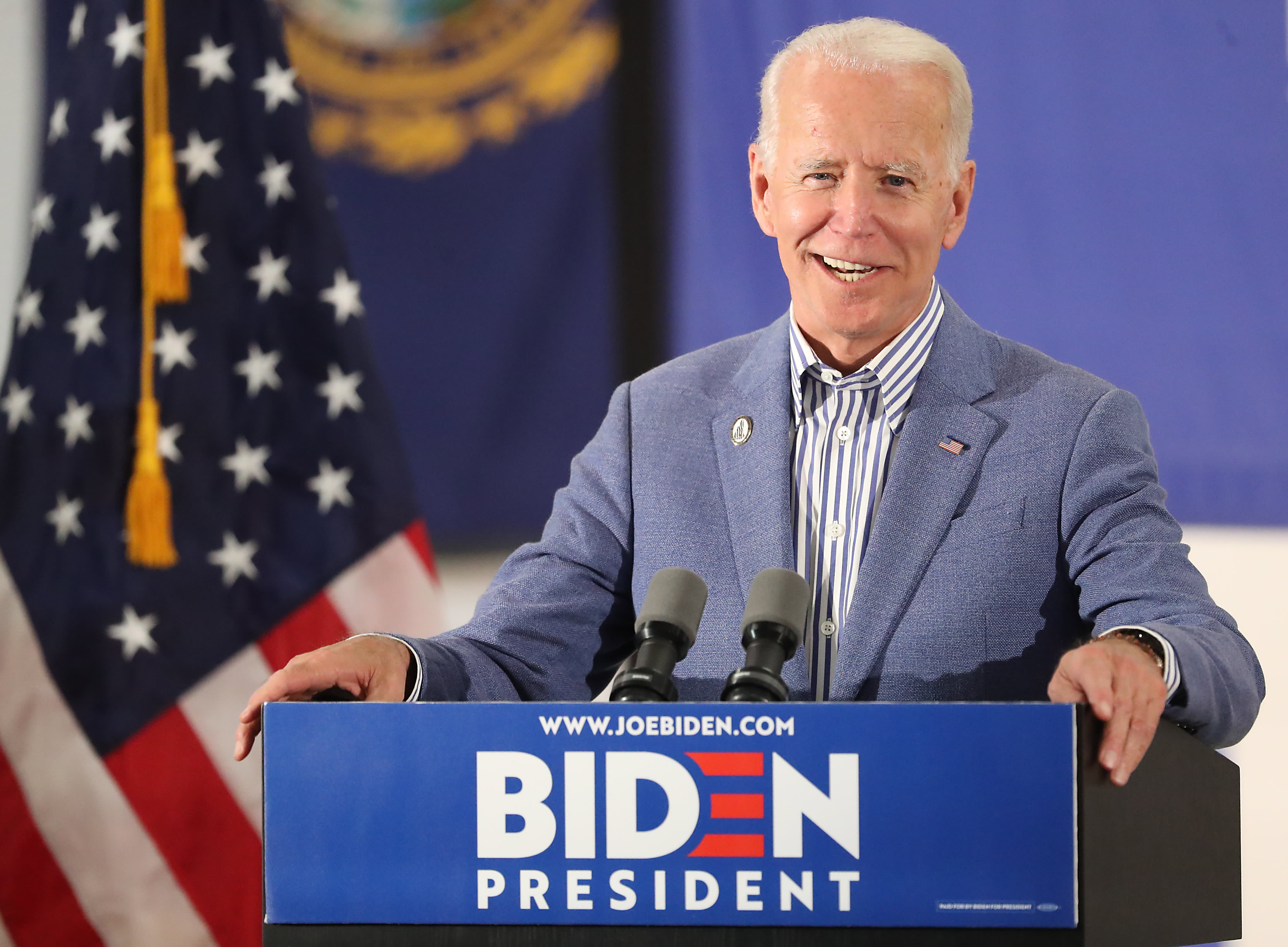 Millionaires say they are more likely to vote for Joe Biden over Donald Trump in 2020 elections